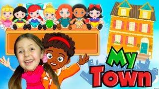 Рум Тур Дом друзей в My Town Идем в гости к мультяшной семье Веселая игра про семью KIDS CHILDREN