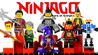 LEGO Ninjago Tournament of Elements 2015 KnockOff Minifigures Set 24 Review