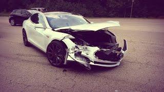 Tesla Crashes | Аварии Тесла