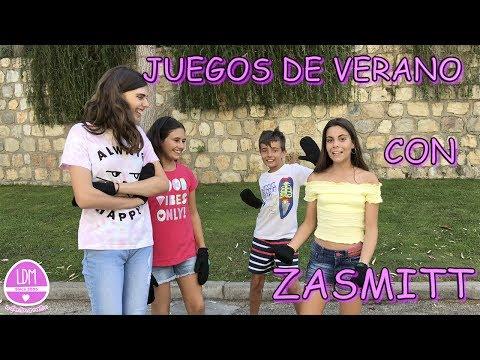 JUEGOS DE VERANO CON ZASMITT/LA DIVERSION DE MARTINA