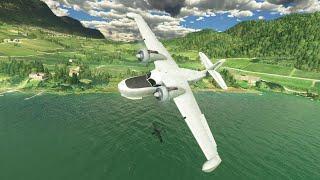 MSFS 2020 _ Grumman Goose G21A _ LIPB _ Italy