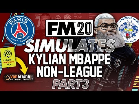 I Trapped Mbappe At A Non League Club [PART3] Football Manager 2020... #FM20