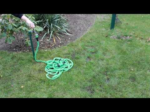 Flexibler Gartenschlauch - flexi Schlauch aus TV - Ausdehnung auf 30m