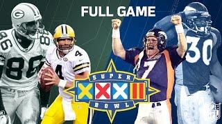 Super Bowl XXXII Elway's 1st Super Bowl Win | Green Bay Packers vs. Denver Broncos | NFL Full Game