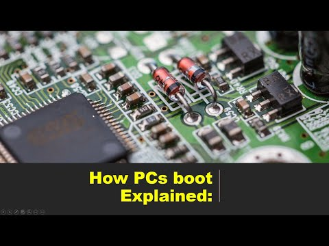 Understanding how PCs boot and how Windows Partitions HDs