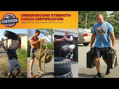 Underground Strength Coach Certification Online with Zach Even ...