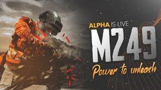 🔴PUBG MOBILE LIVE : M249 KA AAJ ASLI JALWA DIKHATA HU! 😱😁    H¥DRA   Alpha 😎😍