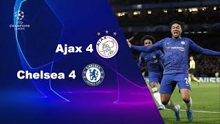 Chelsea 4 - Ajax 4 | UEFA Champions league