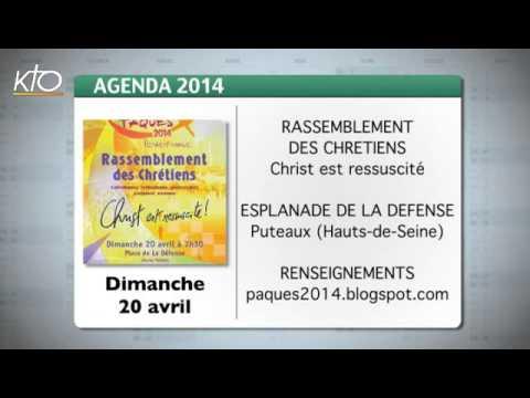 Agenda du 11 avril 2014