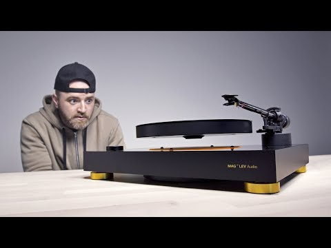 The Levitating Turntable – What Magic Is This?