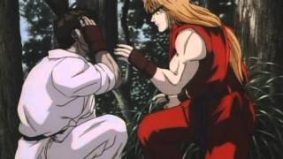 Street Fighter 2 The Animated Movie How Ryu Got His Red Headband