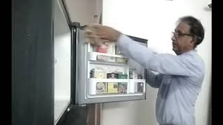 How to prevent cockroaches to enter in the fridge and clean door Gasket