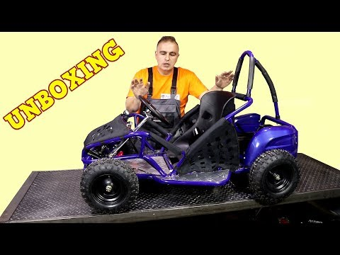 GoKid 1000W 48V Electric GoKart - Unboxing + Assembly Instructions