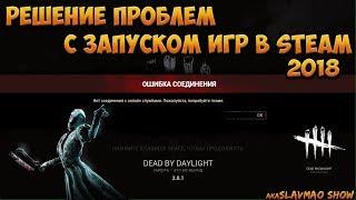 Dead by Daylight - Нет соединения с онлайн службами. Решение проблем с запуском игр в Steam