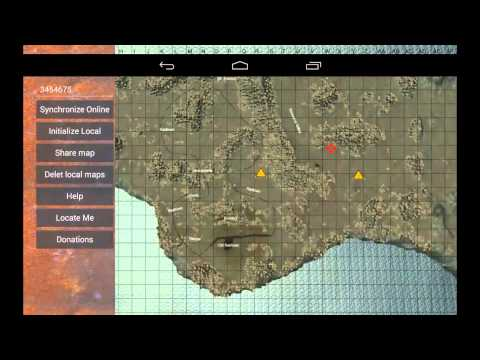 Video of Rust Map