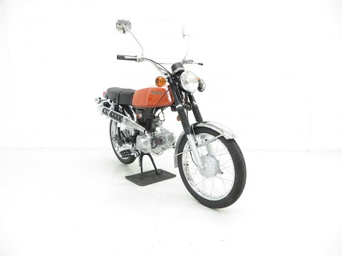 An Early 5 Speed Honda SS50 In Tremendous Show Condition - SOLD!