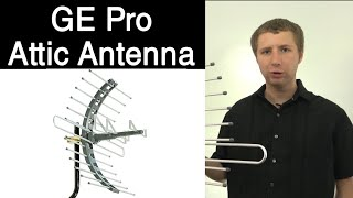 GE Pro Long Range Attic Outdoor TV Antenna 29884 Review