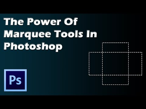 video tutorial on The Power Of Marquee Tools In Photoshop