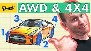 All Wheel Drive VS 4x4 | How it Works | Donut Media