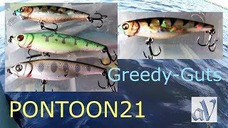 Pontoon 21 greedy guts 77f mdr