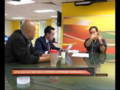 Astro AWANI dan Sinar Harian lapor berita komprehensif sempena PRU-14