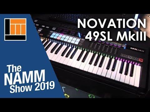 NAMM 2019: Novation SL Mk III - смотреть онлайн на Hah Life