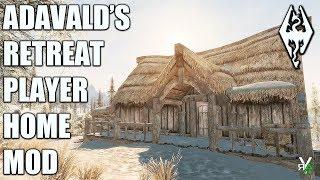 ADAVALD'S RETREAT: Vampire Hunter Player Home- Xbox Modded Skyrim Mod Showcase