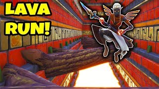 *NEW* FORTNITE LAVA DEATHRUN!! (Creative Mode)
