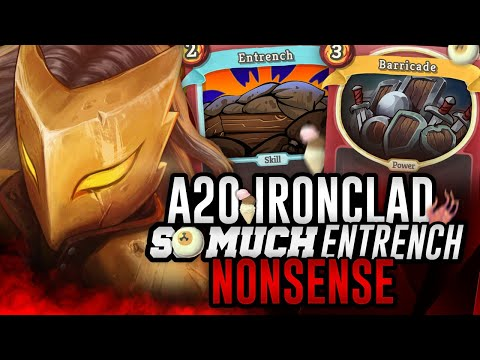 So Much Entrench Nonsense | Ascension 20 Ironclad Run | Slay the Spire