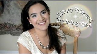 Disney Princess Training: Q&A, Mannerisms, Voice, Character Attendants, Movement & More