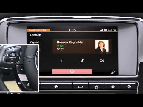 Jaguar XJ | Phone Operation
