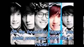 B1A4-beautiful target (lyrics)