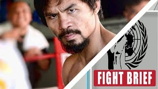 Manny Pacquiao sticking to December 2 return date | Not  vs Mikey or Vasyl