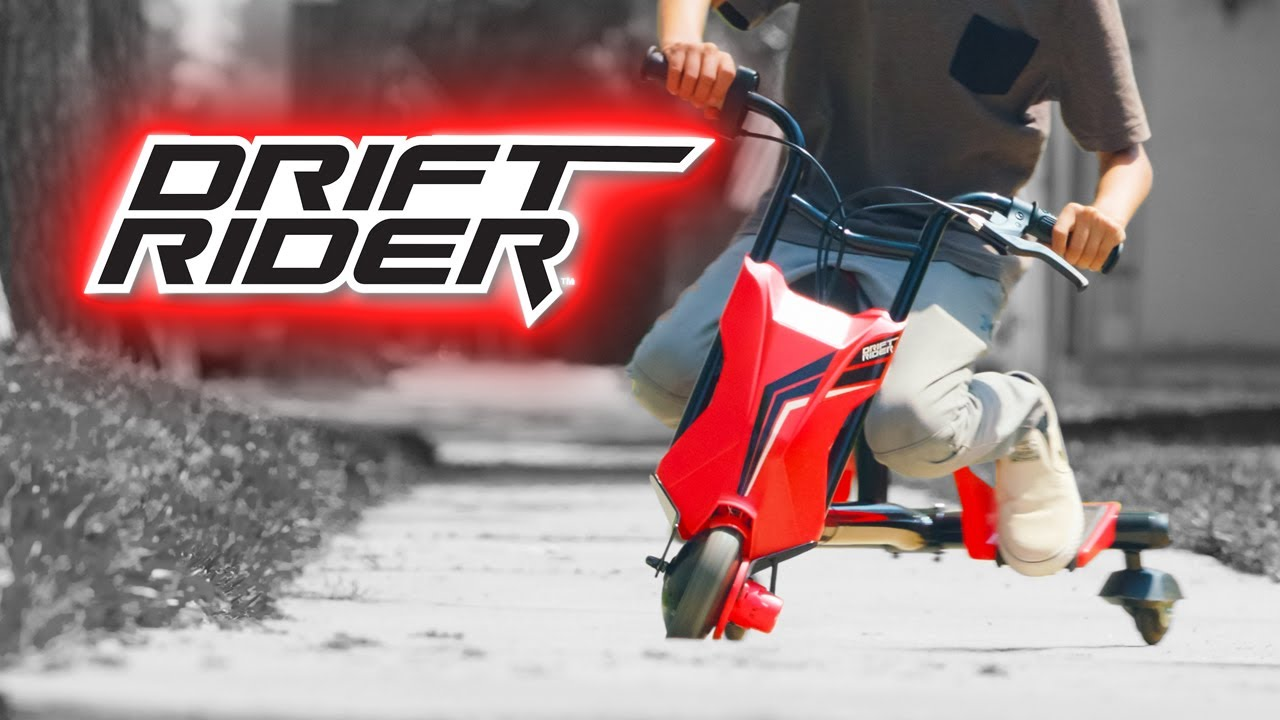Razor Drift Rider Ride Video