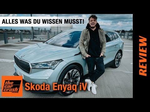 ALLES zum Skoda Enyaq iV (2021) Besser als VW ID.4 & Audi Q4 e-tron?! 🤨 Fahrbericht   Review   Test