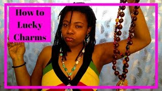 Bless Your Beads   How To Make Lucky Charms   Sage and Charge Crystals and Stones