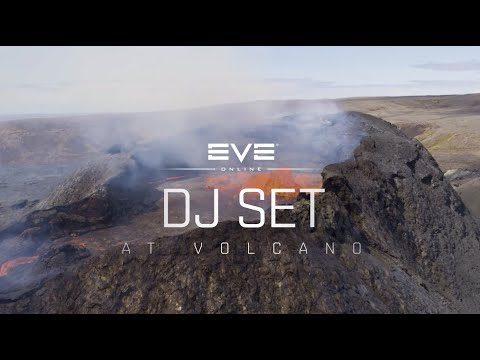 Relax And Check Out Iceland's Erupting Volcano With This EVE Online DJ Mix