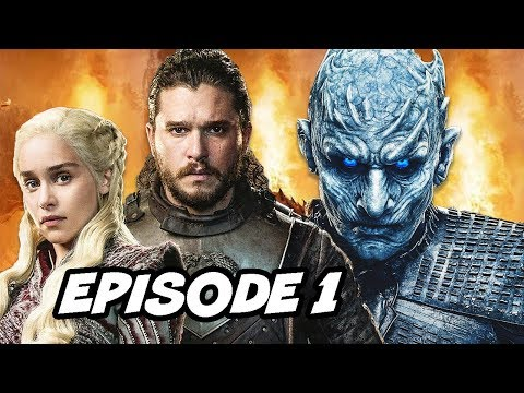 Game Of Thrones Season 8 Episode 1 - Night King Scene Hidden Meaning Explained