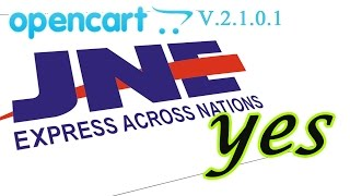 JNE YES Untuk Opencart V2101