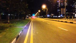 preview picture of video 'City Hall to Tampines on a DiamondBack Response 2011.'