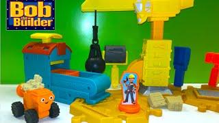 Bob The Builder Mash & Mold Construction Site with Dizzy the mixer Tiny The Crane & MoldPress Garage