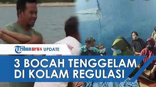 Berenang di Tempat Terlarang, 3 Bocah di Gowa Tewas Tenggelam di Kolam Regulasi Nipa-nipa