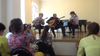 Полет трех шмелей - Ансамбль СФорцандо - концерт в РАМ им.Гнесиных (дом Шуваловых)