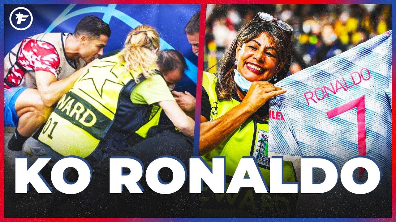 L'INCROYABLE SOIRÉE d'une stadière avec Cristiano Ronaldo   JT Foot Mercato