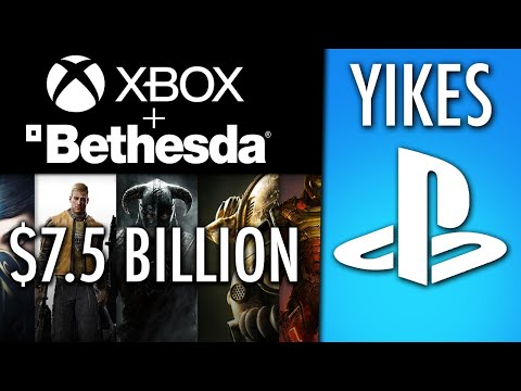 Microsoft Bought Bethesda For $7.5 Billion, What Does This Mean For Sony and PS5?