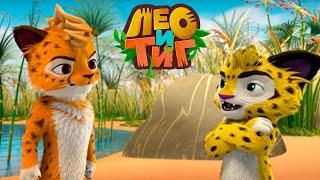 Лео и Тиг — Лучший бегун — Серия 39