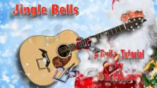 Jingle Bells - Acoustic Guitar Lesson (easy)
