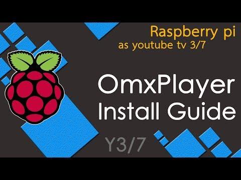 Tutorial 4 : OMXplayer installation in Raspberry pi - смотреть