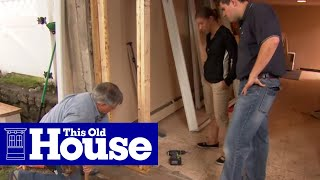 How to Install a Sliding Glass Door | This Old House