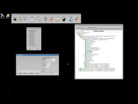 Configuring a sunDial quad via DMX Workshop